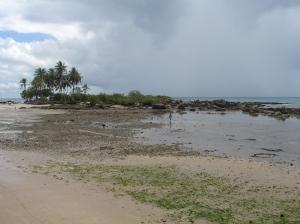 Terceira praia, pela manhã cedinho